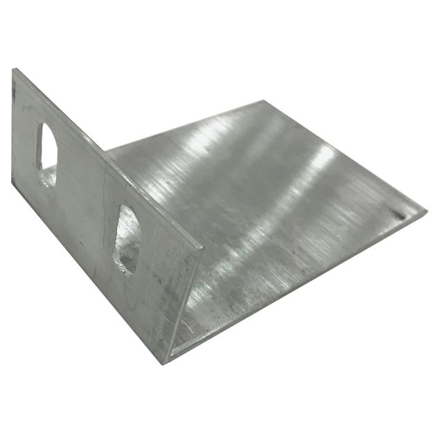 Алюминиевый L -кронштейн 4 см * 12 см * 8 см