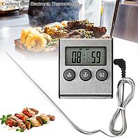 Термометр/таймер для духовки с сигналом и выносным датчиком TP 700