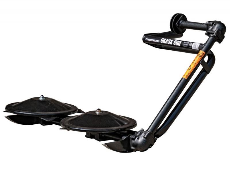 Роторная косилка GRASS 800 type-C для мотоблоков AURORA с ременным приводом