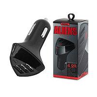 Автомобильная зарядка Remax Alien Series Smart 3 USB (CR-3XP)