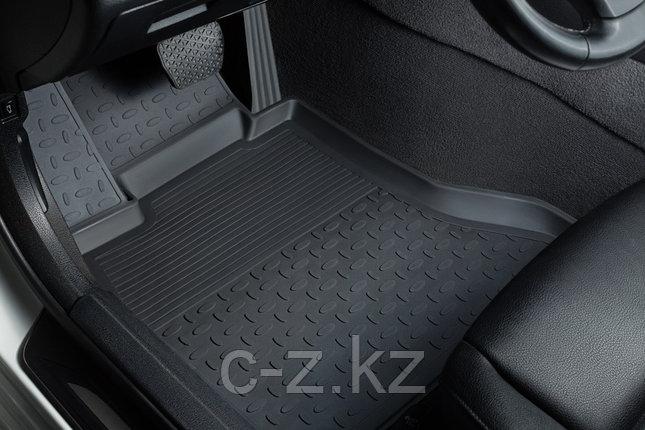 Резиновые коврики с высоким бортом для Renault Logan II 2014-2021, фото 2