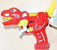 2208 Динозавр пистолет муз на бат 2цвета,8шт в уп.,цена за 1шт 18*11см, фото 1