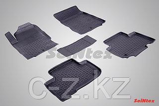 Резиновые коврики с высоким бортом для Ssang Yong Rexton III 2012-н.в.