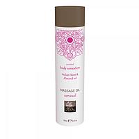 Массажное масло SHIATSU sensual Индийская роза и миндаль