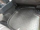 Резиновые коврики с высоким бортом для Skoda Rapid 2012-2021, фото 5