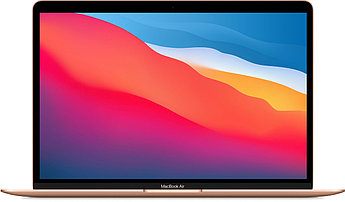 Apple MacBook Air (M1, 2020) 8 ГБ, 256 ГБ SSD, «золотой»