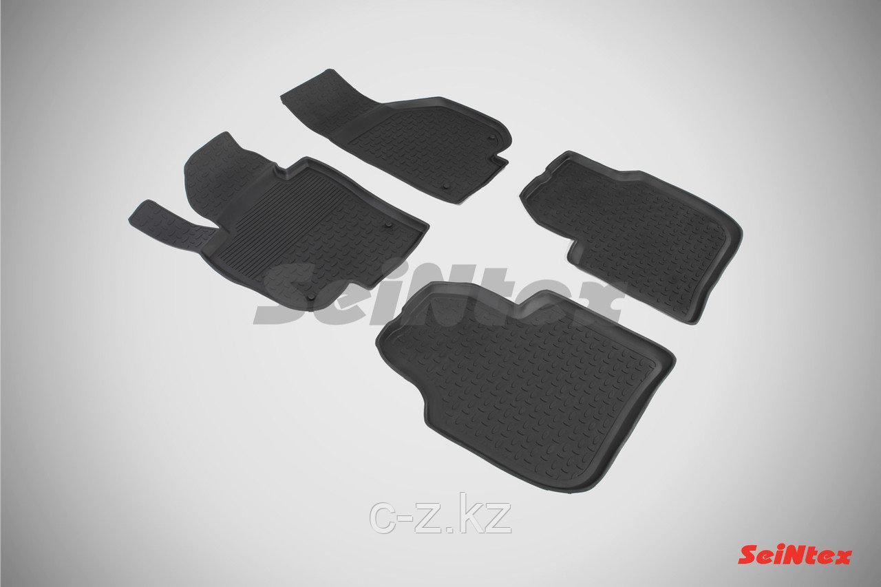 Резиновые коврики с высоким бортом для Skoda Superb II 2008-2015