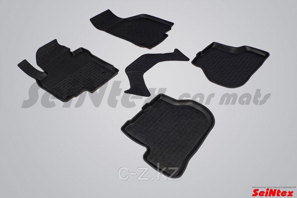Резиновые коврики с высоким бортом для Skoda Octavia A5 2008-2013