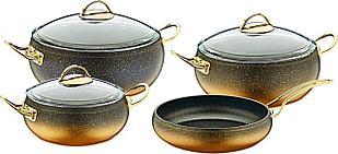 Набор посуды OMS Collection 3023-GD 7 предметов