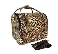Кейс-сумка для визажиста HZX-01 кожзам (в ассорт.) №37488