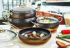 Набор посуды OMS Collection 3024-GD 9 предметов, фото 2
