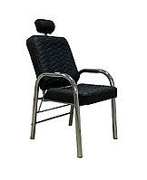 AS-66 Кресло для макияжа (черное, гладкое)