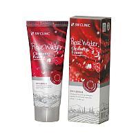 Пена 3W CLINIC очищающая Rose Water №74888
