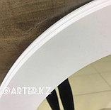 Зеркало овальное в белой раме МДФ, 70мм, 900(В)х630(Ш)мм, фото 2