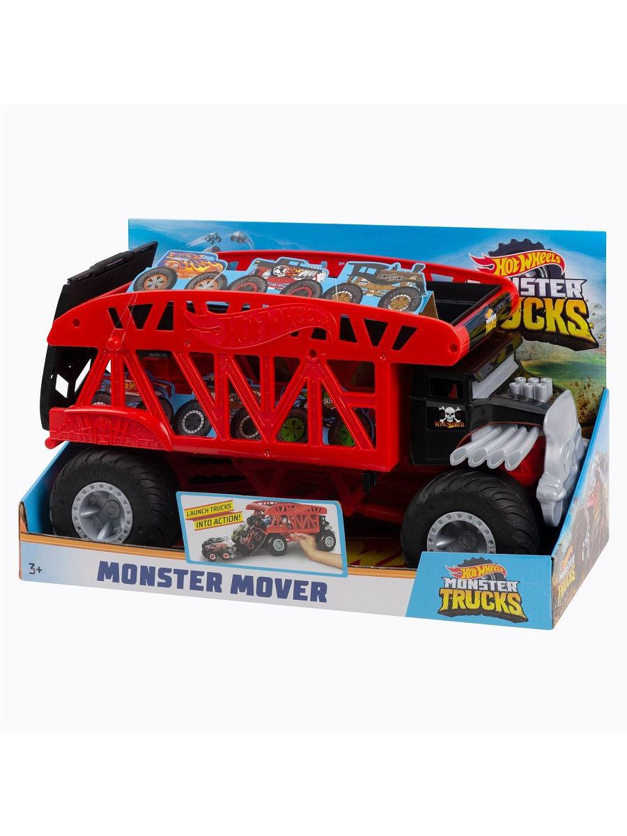 Машинка Hot Wheels Monster Trucks Монстр Мувер FYK13 - фото 4
