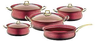Набор посуды OMS Collection 3045-RD 9 предметов