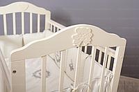 """Кроватка детская Incanto """"Pali"""", (белый) универсальный маятник."""
