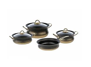 Набор посуды OMS Collection 3044-GD 7 предметов