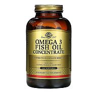 Solgar, Омега-3 рыбий жир, концентрат, 240 капсул