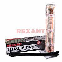Теплый пол (нагревательный МАТ 4мм) Extra, площадь 1,0м2 (0,5х2,0 метра), 160Вт, (двухжильный, с экраном) REXA