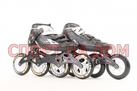 Спортивные роликовые коньки для спидскейта Inline Patins (37,38,39,40 размеры), фото 2