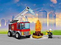 LEGO возраст 4+: Пожарная машина с лестницей CITY 60280