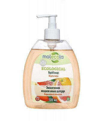 """Жидкое мыло """"Королевский Апельсин"""", экологичное, 500мл."""