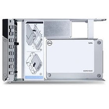 DELL 400-BDVW Жесткий диск SSD 480GB SATA Mixed Use 6Gbps 512e 2.5in Drive 3.5in Hybrid Carrier S4610