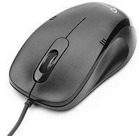Мышь Gembird MOP-100 черный оптическая (1000dpi) USB (3but)