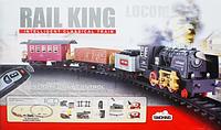Железная дорога RAIL KING с пультом (120 см на 213 см)