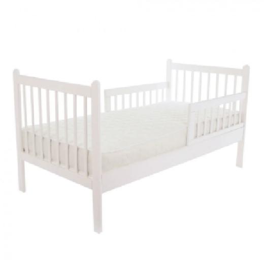 Кровать подростковая PITUSO EMILIA NEW Белая J-501 165*86,5*88,5 см