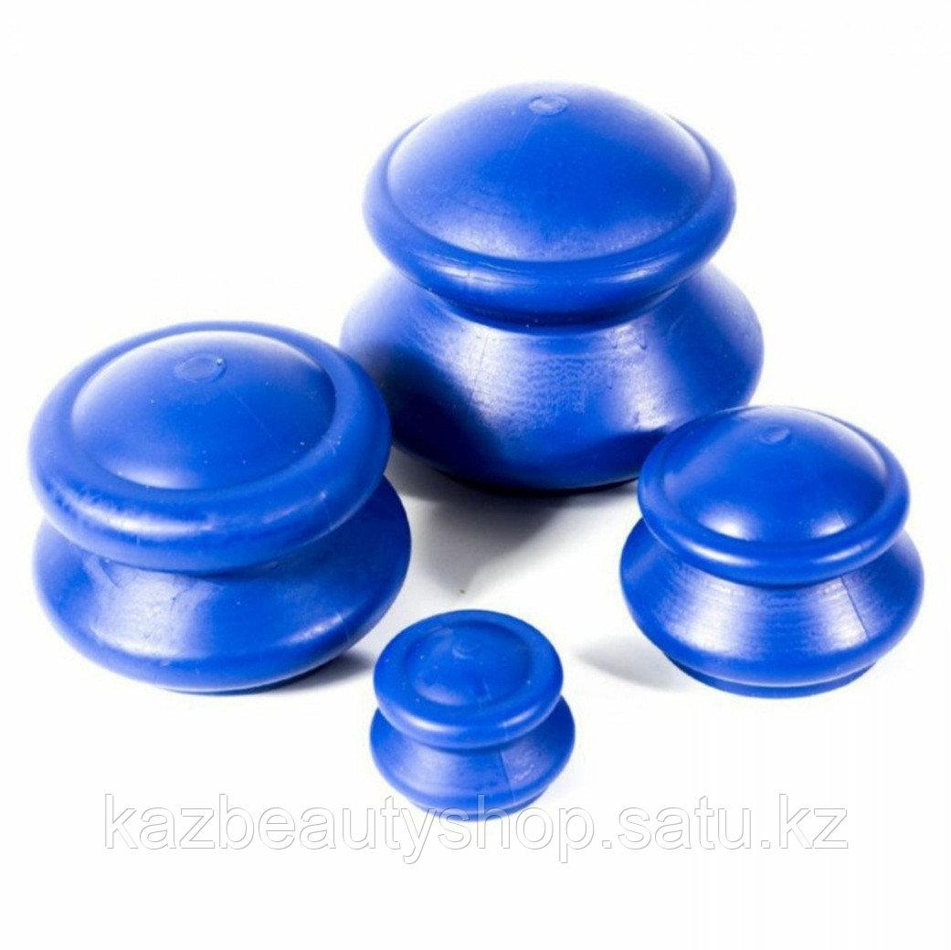 Массажные антицеллюлитные вакуумные банки для тела