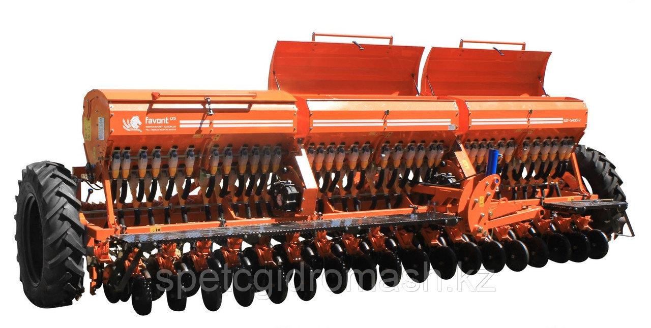Сеялка зерновая СЗФ-5.400-06V (вариатор, загортач, прикатывающие катки) пр-во Фаворит, Украина, Кропивницкий