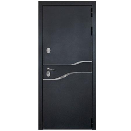 Дверь металлическая Амакс Термо Черный шелк 960 правая