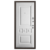 Дверь металлическая Аура панель-панель 2050*960 левая