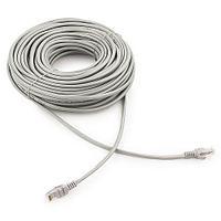 Патч-корд UTP Cablexpert PP12-30M кат.5e, 30м, литой, многожильный (серый)