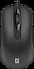 Мышь проводная Defender Classic MB-230 (Черный)