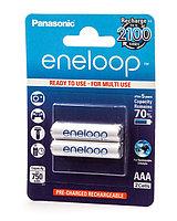 Аккумулятор PANASONIC Eneloop AAA 750 mAh/2B /  BK-4MCCE/2BE