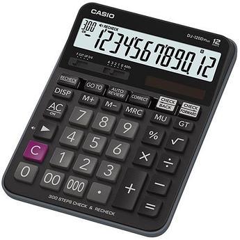 Калькулятор настольный CASIO DJ-120DPLUS-W-EP