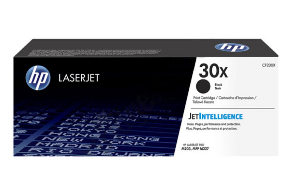 HP CF230X 30X Black LaserJet Toner Cartridge for LaserJet Pro M227/M203, 3500 pages