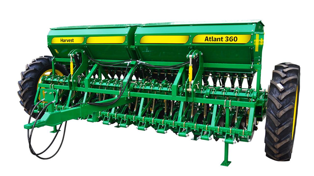 Сеялка зерновая ATLANT 360  от завода производителя  HARVEST ( ХАРВЕСТ УКРАИНА ОРИГИНАЛ)