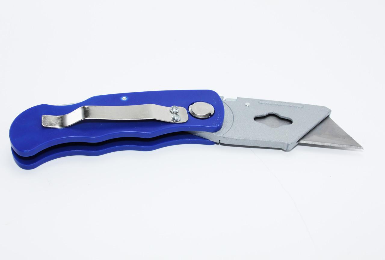Строительно-монтажный нож ZI-FDL 002-01 строительный нож