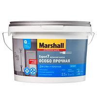 Латексная матовая краска Marshall Export 7 для стен и потолков BW 9л.