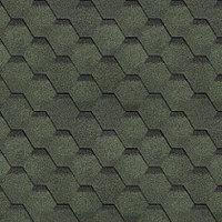 Гибкая черепица , серия ФИНСКАЯ ЧЕРЕПИЦА, цвет зеленый