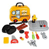 Игровой набор инструменты в чемодане tools 008-916а