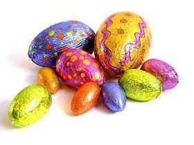 Яйца шоколадные