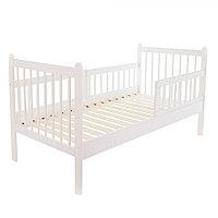 Подростковая кровать Pituso Emilia с матрасом Белый