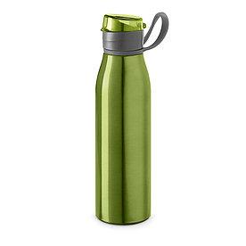 Бутылка для спорта из алюминия KORVER, зеленая