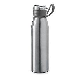 Бутылка для спорта из алюминия KORVER, серебристая