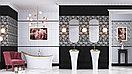Кафель   Плитка настенная 25х50 Катрин   Catrin черный, фото 2